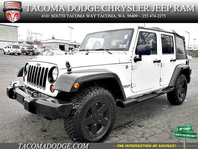 2010 jeep wrangler unlimited sport tacoma wa for sale in tacoma washington classified. Black Bedroom Furniture Sets. Home Design Ideas