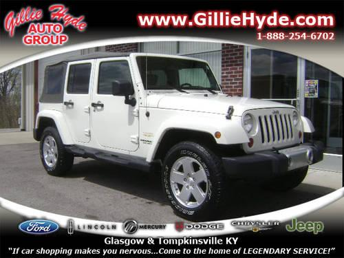 2010 Jeep Wrangler Unlimited SUV 4X4 Sahara 4x4