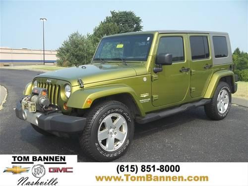 2010 jeep wrangler unlimited suv sahara for sale in am qui tennessee classified. Black Bedroom Furniture Sets. Home Design Ideas
