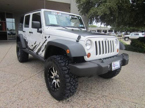2010 Jeep Wrangler Unlimited SUV Sport - LIFTED