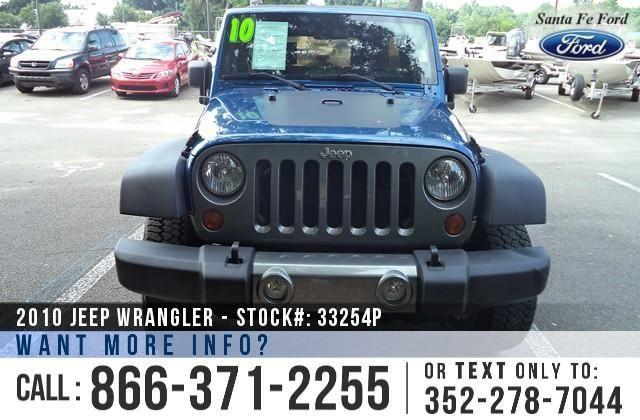 2010 Jeep Wrangler Unlimited - Warranty - Manual