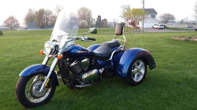 2010 kawasaki 900 vulcan trike only 2720 miles like. Black Bedroom Furniture Sets. Home Design Ideas