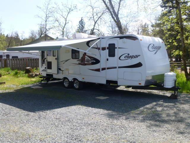 2010 keystone cougar 25 rlswe 1 2 ton towable trailer for