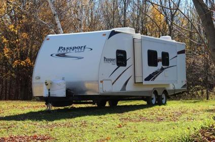 2010 keystone passport 280 bh for sale in chicago. Black Bedroom Furniture Sets. Home Design Ideas