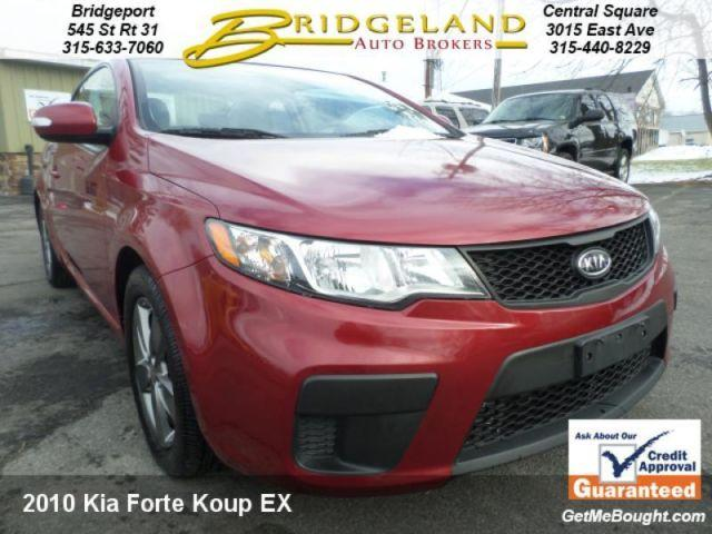 2010 Kia Forte Koup Ex 2 Door Sporty One Owner Traded New Car Store