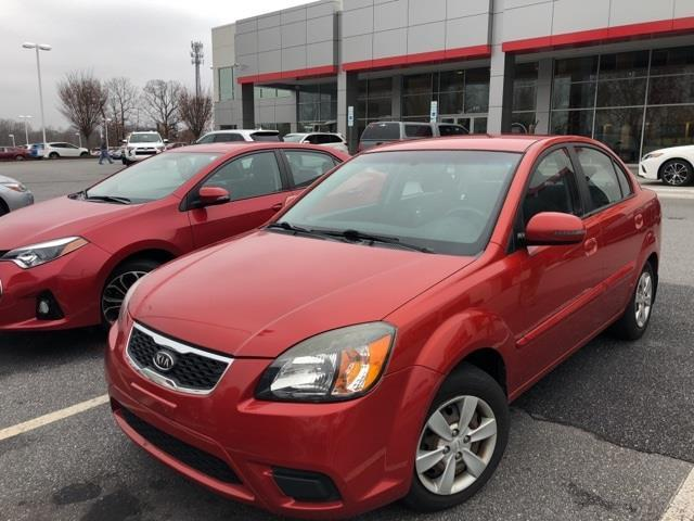 2010 Kia Rio Base 4dr Sedan