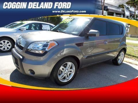 2010 KIA SOUL 4 DOOR HATCHBACK