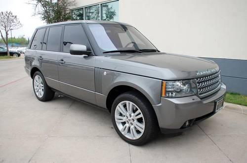 2010 land rover range rover 4d sport utility hse for sale. Black Bedroom Furniture Sets. Home Design Ideas