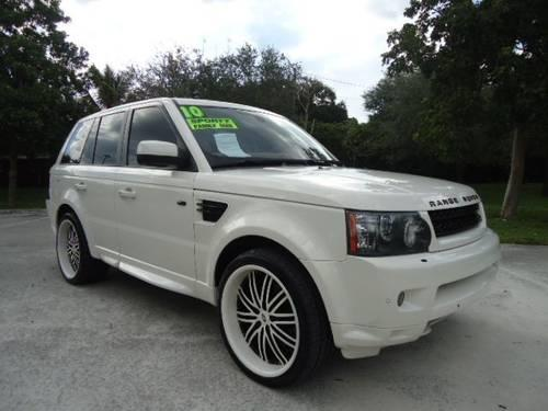 2010 land rover range rover sport suv hse for sale in. Black Bedroom Furniture Sets. Home Design Ideas