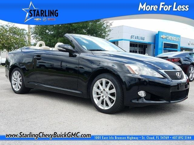 2010 lexus is 250c base 2dr convertible 6a for sale in. Black Bedroom Furniture Sets. Home Design Ideas