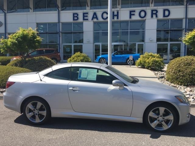 2010 lexus is 250c base 2dr convertible 6a for sale in virginia beach virginia classified. Black Bedroom Furniture Sets. Home Design Ideas