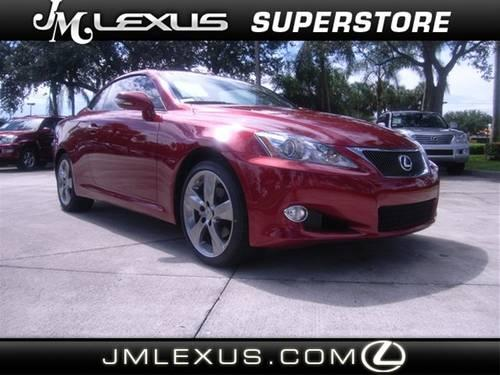 2010 lexus is 250c convertible base for sale in pompano beach florida classified. Black Bedroom Furniture Sets. Home Design Ideas