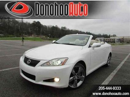 2010 Lexus IS 250C Luxury Package, Navigation, Reverse