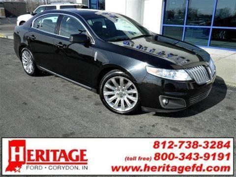 2010 lincoln mks 4 door sedan for sale in corydon indiana classified. Black Bedroom Furniture Sets. Home Design Ideas