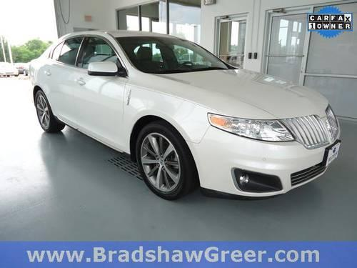 2010 lincoln mks 4d sedan base for sale in greer south carolina classified. Black Bedroom Furniture Sets. Home Design Ideas