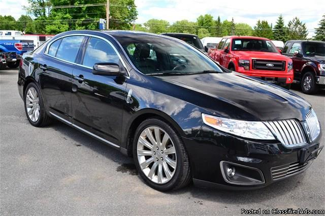 2010 lincoln mks with only 41k miles navigation rhinebeck for sale in rhinebeck new york. Black Bedroom Furniture Sets. Home Design Ideas