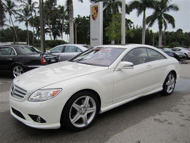 2010 mercedes benz cl class cl550 4matic for sale in for Naples florida mercedes benz dealers