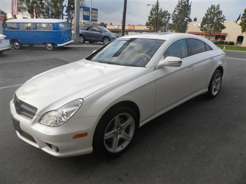 2010 Mercedes Benz Cls Class Coupe Cls550 Coupe 4d For