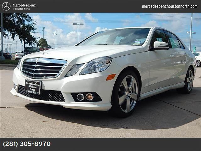 2010 Mercedes Benz E Class For Sale In Houston Texas