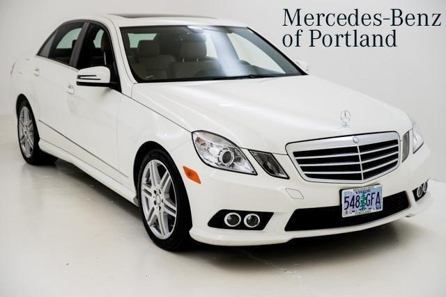 2010 mercedes benz e class e350 for sale in portland for Mercedes benz portland