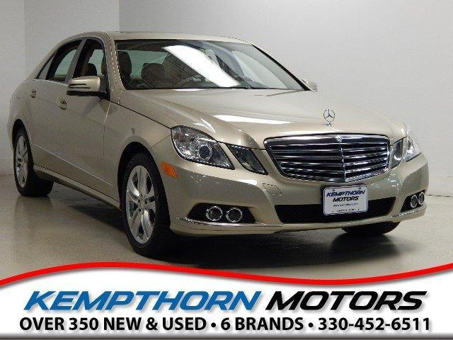 2010 Mercedes-Benz E-Class E350 Luxury 4MATIC AWD E350