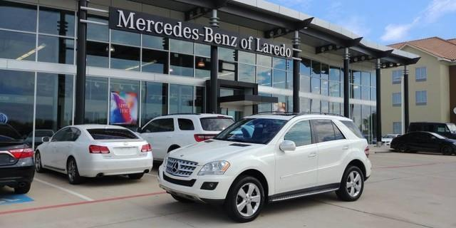 2010 mercedes benz m class ml 350 ml 350 4dr suv for sale for Mercedes benz laredo tx