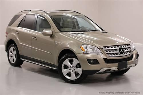 2010 mercedes benz m class suv 4matic 4dr ml350 bluetec awd suv for sale in mount juliet. Black Bedroom Furniture Sets. Home Design Ideas