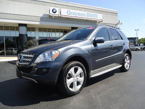 2010 mercedes benz ml350 suv awd ml350 bluetec for sale in knoxville tennessee classified. Black Bedroom Furniture Sets. Home Design Ideas