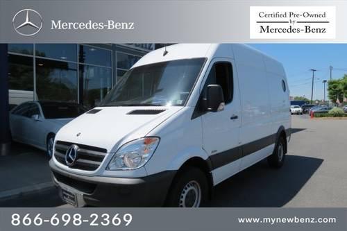 2010 mercedes benz sprinter cargo vans minivan van 2500 for 2010 mercedes benz sprinter cargo van