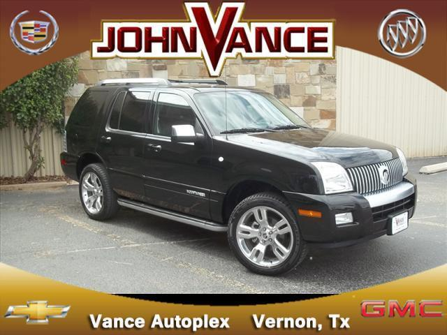 2010 mercury mountaineer premier for sale in vernon texas classified. Black Bedroom Furniture Sets. Home Design Ideas