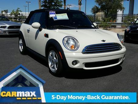 2010 MINI Cooper Base Base 2dr Convertible