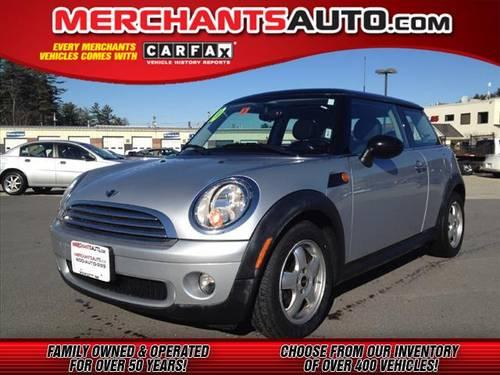 2010 mini cooper hatchback for sale in manchester new hampshire classified. Black Bedroom Furniture Sets. Home Design Ideas