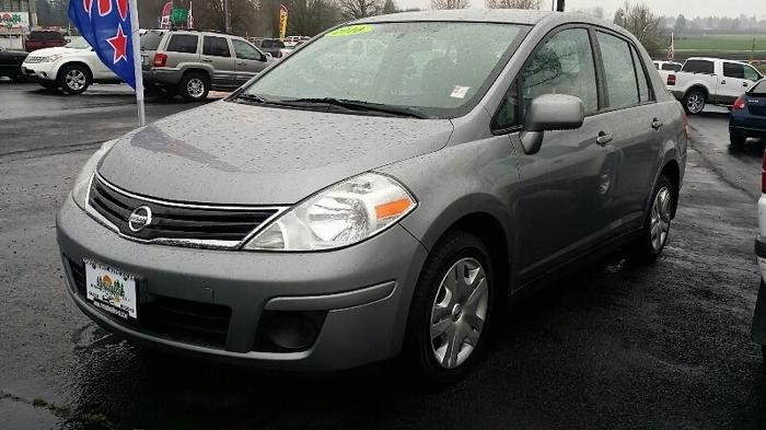 2010 nissan versa 4dr sdn i4 auto 1 8 s for sale in salem oregon classified. Black Bedroom Furniture Sets. Home Design Ideas