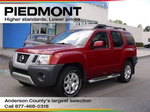 2010 nissan xterra sport utility se with bluetooth navigation for sale in anderson south. Black Bedroom Furniture Sets. Home Design Ideas