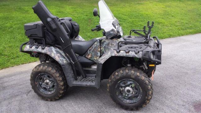2010 Polaris Sportsman 550 Eps Browning Edition Atv For