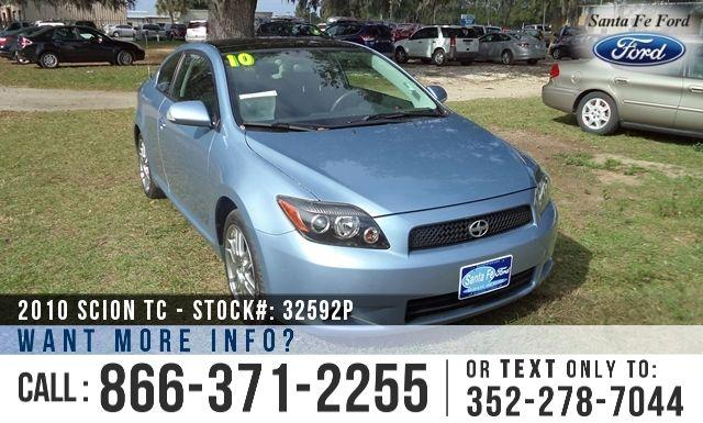 2010 Scion Tc Release Series 6.0 - Extended Sunroof -