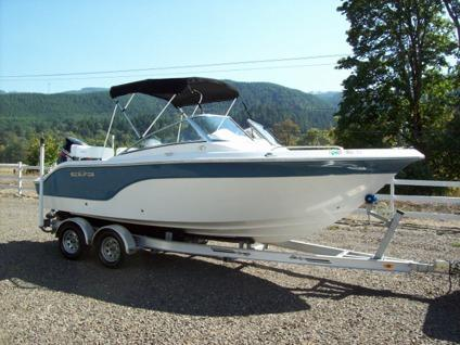 2010 sea fox 216dc bowrider 150hp outboard 22 foot 2010 for Bowrider boats with outboard motors