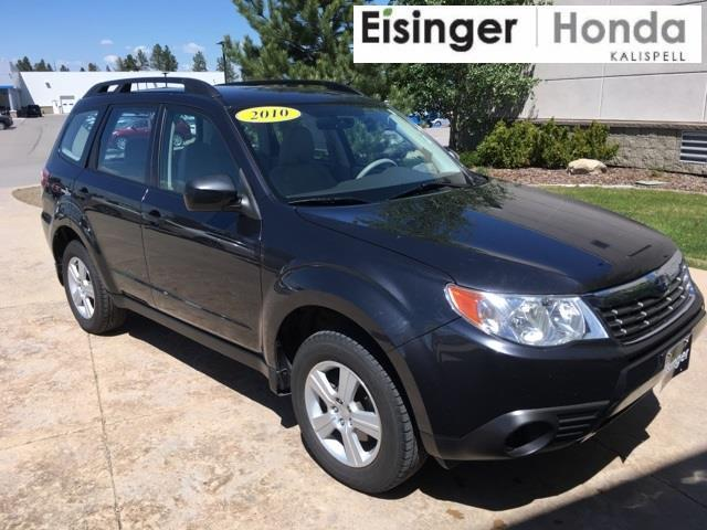 2010 subaru forester 2 5x awd 2 5x 4dr wagon 4a for sale in evergreen montana classified. Black Bedroom Furniture Sets. Home Design Ideas