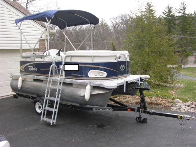 2010 Tahoe 14' Pontoon boat for Sale in Cincinnati, Ohio ...