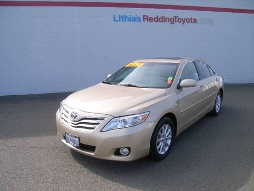 2010 toyota camry 4dr sedan xle v6 xle v6 for sale in redding california classified. Black Bedroom Furniture Sets. Home Design Ideas