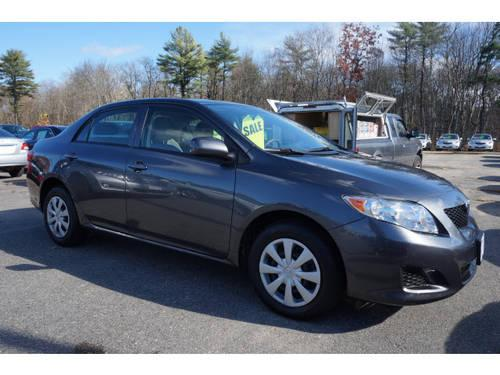 2010 toyota corolla 4 dr sedan le for sale in raynham massachusetts classified. Black Bedroom Furniture Sets. Home Design Ideas