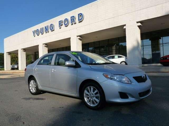 2010 toyota corolla le for sale in easley south carolina classified. Black Bedroom Furniture Sets. Home Design Ideas