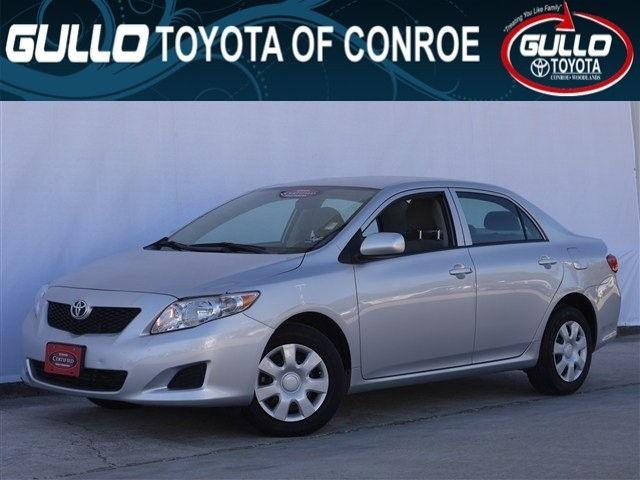 2010 toyota corolla s for sale in conroe texas classified. Black Bedroom Furniture Sets. Home Design Ideas