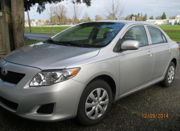 2010 toyota corolla with less than 11 000 miles for sale