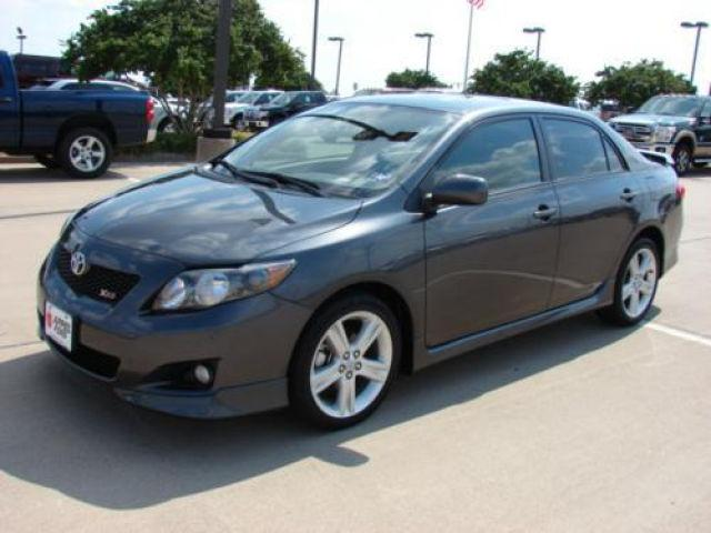 2010 toyota corolla xrs for sale in brenham texas. Black Bedroom Furniture Sets. Home Design Ideas