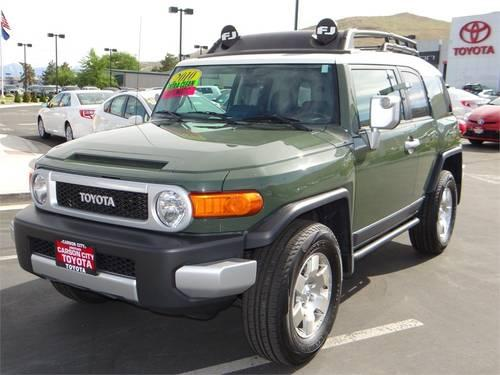2010 toyota fj cruiser suv 4wd 4dr man for sale in carson. Black Bedroom Furniture Sets. Home Design Ideas