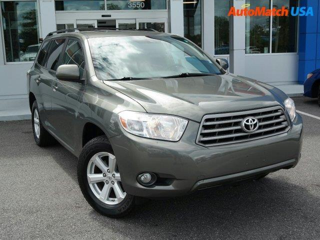 2010 toyota highlander se se 4dr suv for sale in ocala. Black Bedroom Furniture Sets. Home Design Ideas