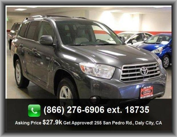 2010 toyota highlander se suv for sale in san jose. Black Bedroom Furniture Sets. Home Design Ideas