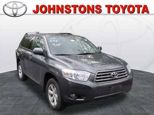2010 toyota highlander suv 4x4 se for sale in new hampton. Black Bedroom Furniture Sets. Home Design Ideas