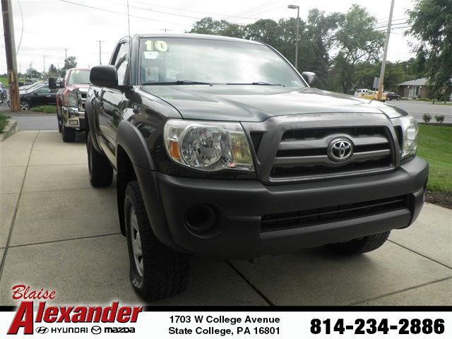 2010 Toyota Tacoma Base 4x4 Base 2dr Regular Cab 6.1 ft